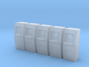 ATM Machine Ver01. 1:87 Scale (HO) in Smooth Fine Detail Plastic