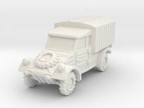 Kubelwagen Type 28 1/72 in White Natural Versatile Plastic