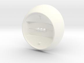 EI Stat Pedestal (MK2) in White Processed Versatile Plastic