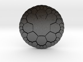 Octagonal Tiling on the Hyperbolic Plane in Matte Black Steel