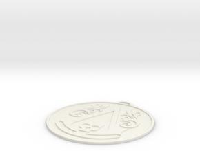 Assassins Creed - Black Flag Logo slim in White Strong & Flexible
