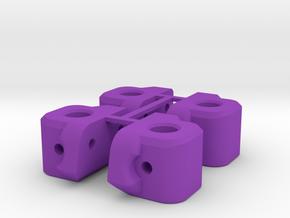 V1W M1 Body Mount Tree in Purple Processed Versatile Plastic