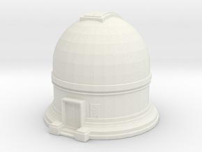 Observatory 1/200 in White Natural Versatile Plastic