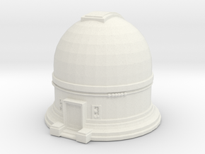 Observatory 1/285 in White Natural Versatile Plastic