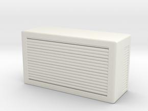 Window AC Unit 1/35 in White Natural Versatile Plastic