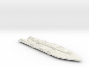 3788 Scale Frax X-Ship X-Command Cruiser (CCX) MGL in White Natural Versatile Plastic