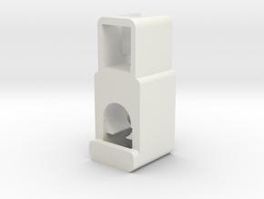 Pariah v3 part-3 (Buttons) in White Natural Versatile Plastic