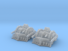 Traitor Plague Tanks 6mm Epic miniature Vehicle se in Smooth Fine Detail Plastic