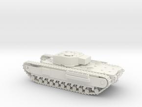 1/48 Scale Churchill in White Natural Versatile Plastic
