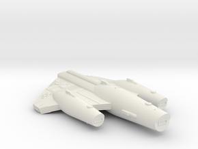 3125 Scale ISC X-Ship X-Command Cruiser (CCX) SRZ in White Natural Versatile Plastic