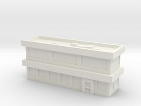 Stackable Office Ground Floor in White Natural Versatile Plastic