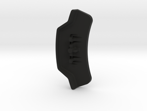Ducati 749 / 999 Custom Dash Button in Black Premium Versatile Plastic