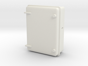 Wall Electrical Cabinet 1/35 in White Natural Versatile Plastic