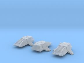Type 17 Shuttle (Argo) 1/1400 x3 in Smooth Fine Detail Plastic