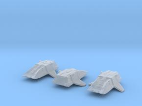 Type 17 Shuttle (Argo) 1/1000 x3 in Smooth Fine Detail Plastic