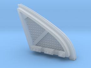 1/72 DS9 Roundabout Clear Intake Grills in Smooth Fine Detail Plastic