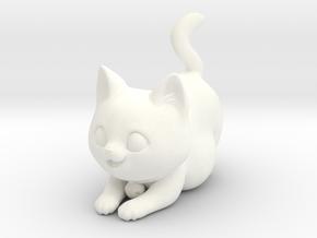 Wigglebottom the cat in White Processed Versatile Plastic