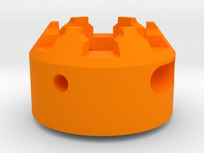 MPX Stabilizing Muzzle Device (14mm+) for Sig MPX in Orange Processed Versatile Plastic