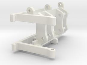 L586 L576 L566 SW Gabelträger / QC pallet fork in White Natural Versatile Plastic: 1:50