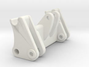 L586 Schnellwechsler / quick coupler in White Natural Versatile Plastic: 1:50