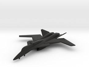 X-02 Wyvern in Black Natural Versatile Plastic: 1:200