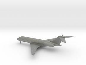 Bombardier Global Express XRS in Gray PA12: 6mm