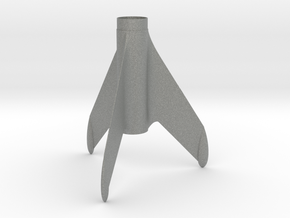 Constellation Fin Unit for BT-50 & 18mm motor in Gray PA12