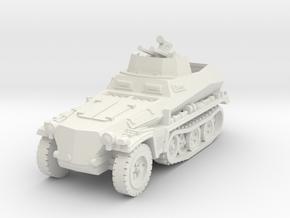 Sdkfz 250/4 A Anti Aircraft 1/100 in White Natural Versatile Plastic