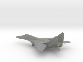 MiG-29 Fulcrum in Gray PA12: 1:200