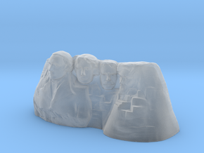 Mount Rushmore 3D print in Smooth Fine Detail Plastic