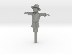 S Scale Scarecrow in Gray PA12