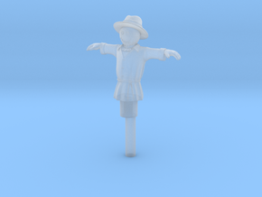 O Scale Scarecrow in Smooth Fine Detail Plastic
