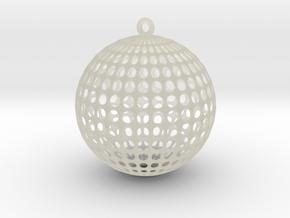 Planet Voronoi in Transparent Acrylic