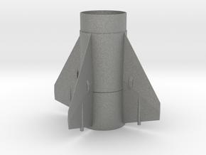 Little John BT 60 Fin Unit for 24mm motors in Gray PA12