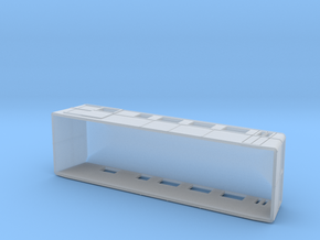 Swedish wagon for railcar UCFo4s N-scale in Smooth Fine Detail Plastic