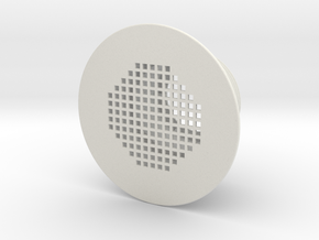 Inlet Strainer Replacement for Stock Tank Pools in White Natural Versatile Plastic