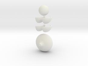 onion-puzzle in White Premium Versatile Plastic