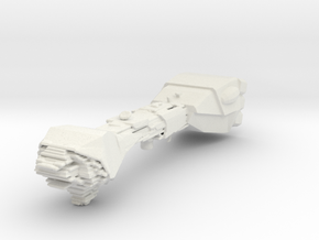 Micromachine Star Wars Neutron Star class  in White Natural Versatile Plastic
