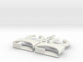 lock-puzzle in White Premium Versatile Plastic
