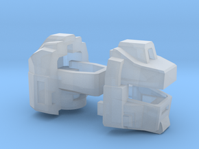 The Magnawheeler's Head, 4mm ball joint in Smooth Fine Detail Plastic