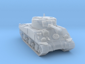 S Scale Sherman Tank in Smooth Fine Detail Plastic