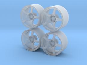 1/24 - 18'' Enkei RP03 - model car wheel (female) in Smoothest Fine Detail Plastic