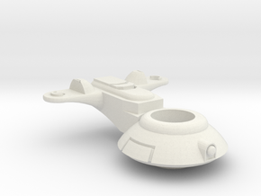 Support SciFI hovertank Turret 16.8mm ring mk2 in White Natural Versatile Plastic