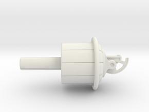 (1:72) 'Toric Whirlwind Gun' (Wirbelringkanone) in White Natural Versatile Plastic