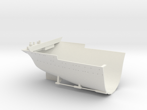 1/350 USS Wasp (Sept. 1942) Stern in White Natural Versatile Plastic