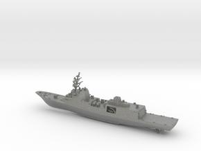 Fincantieri FFG(X) Full Hull in Gray PA12: 1:600