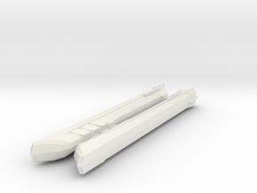 1000 TMP FIWE-1 engine pair in White Natural Versatile Plastic