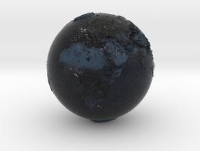 earth nigth in Natural Full Color Sandstone