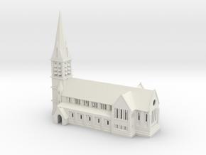 Aldershot Garrison Church St Georges in White Natural Versatile Plastic
