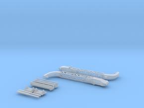 Britannic Gantry Davits - Scale 1:200 in Smoothest Fine Detail Plastic
